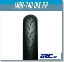 IRC アイアールシー 90 90-10 フロント 高品質 リア兼用 タイヤ 納期未定 入荷後発送 井上ゴム 50J 121114 TL セール特価 MBR740 至上 バイク リア