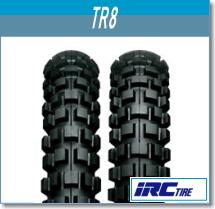 【スーパーセール 開催】【セール特価】IRC 井上ゴム TR8 4.50-18 4PR WT リア 302574 バイク タイヤ リアタイヤ