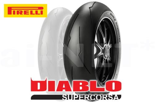 【DUCATI 1098 Tricolore用】PIRELLI(ピレリ) DIABLO SUPERCORSA V2 190/55ZR17 ディアブロ スーパーコルサV2 国内正規品