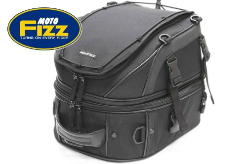 【セール特価】【TANAX[タナックス]】 Wデッキシートバッグ ブラック MFK-139 rearbag キャッシュレス5%還元