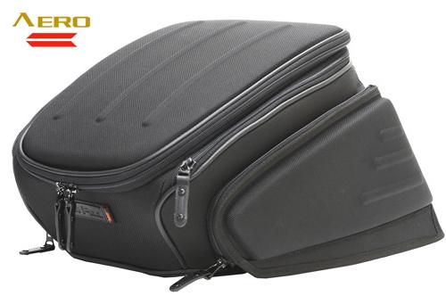 【セール特価】【TANAX[タナックス]】 エアロシートバッグ2 ナイロンブラック MFK-142 rearbag キャッシュレス5%還元