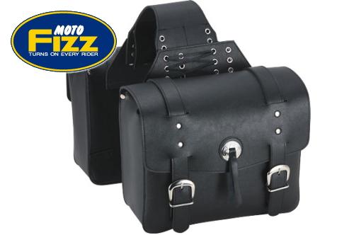 【セール特価】【TANAX[タナックス]】 アメリカンサイドバッグ3 ブラック MFA-8 americanclassicbag【ツーリングバッグ リアバッグ サイドバッグ 左右セット】あす楽