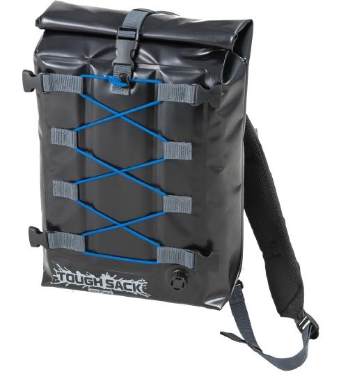 送料無料 TANAX(タナックス) バイク用 防水バック (MFK-255) MOTOFIZZ 2WAY タフザック SQ15 (ブラック) ツーリングバッグ シートバッグ バックパック リュック キャッシュレス5%還元