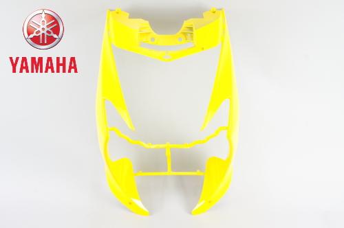 YAMAHA[ヤマハ]純正品 シグナスX シグナスX125 外装 レッグシールド1 イエロー 黄色 SE44J(13-15) フロントカウル アッパーカウル