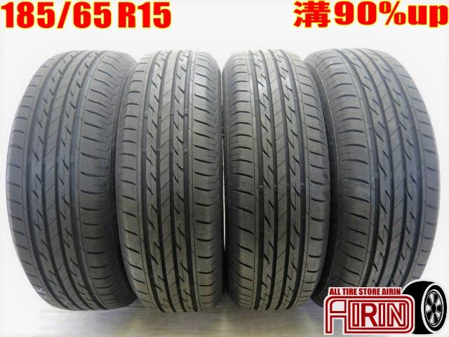 185/65R15 BRIDGESTONE NEXTRY 4本セットアリオン オーリス プレミオ フリード ノート デミオなどに中古タイヤ 15インチ中古 夏タイヤ サマータイヤ 185 65 R15