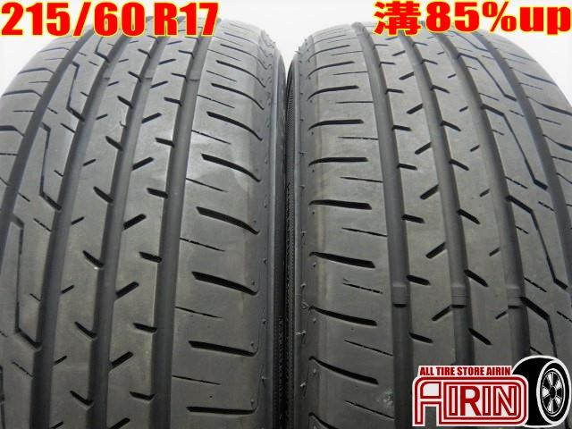 215/60R17 KENDA KENETICA KR201 2本セットC-HR アルファード エスティマ ヴェルファイヤ エリシオン エクストレイル エルグランド RVRなどに中古タイヤ 17インチ 夏タイヤ サマータイヤ 215 60 R17