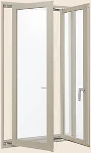 激安先着 アルミサッシ デュオPG 両縦すべり出し窓 呼称11913【LIXIL】【リクシル】【トステム】【マド】【ガラス窓】【装飾窓】【ペアガラス】, 癒し工房 b0ad209c