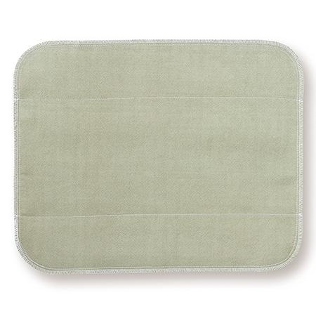 天然植物よもぎを草木染めしたシルク 生成り未サラシネルの生理用布ナプキン 大 正規取扱店 当店は最高な サービスを提供します シルク布ナプキン 大判よもぎ です