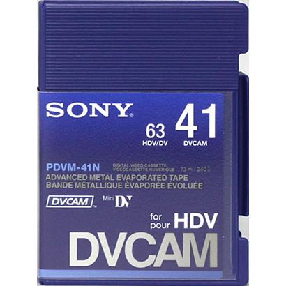 SONY DVCAMテープ 41分 メモリーなし 10本セット PDVM-41N