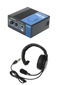 プロテック BNC 電源供給可能有線式インターカムFD-400Aインカム
