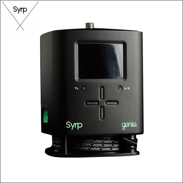 新到着 Syrp Genie シロップ シロップ Genie ジーニー モーションコントロール Syrp・イメージキャプチャーデバイス, 東温市:5719ee07 --- greencard.progsite.com