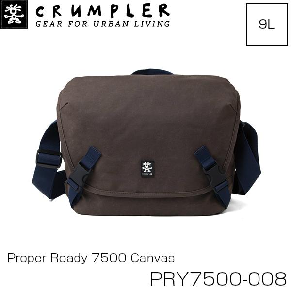 Crumpler クランプラー プロパーローディー 7500 キャンバス カメラケース PRY7500-008