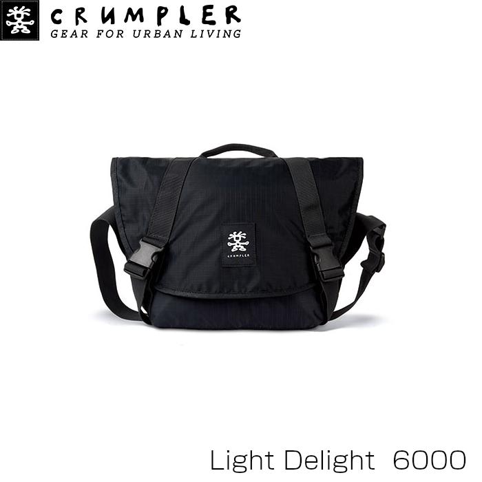 Crumpler クランプラー ライト デライト 6000 ブラック カメラケース LD6000-001