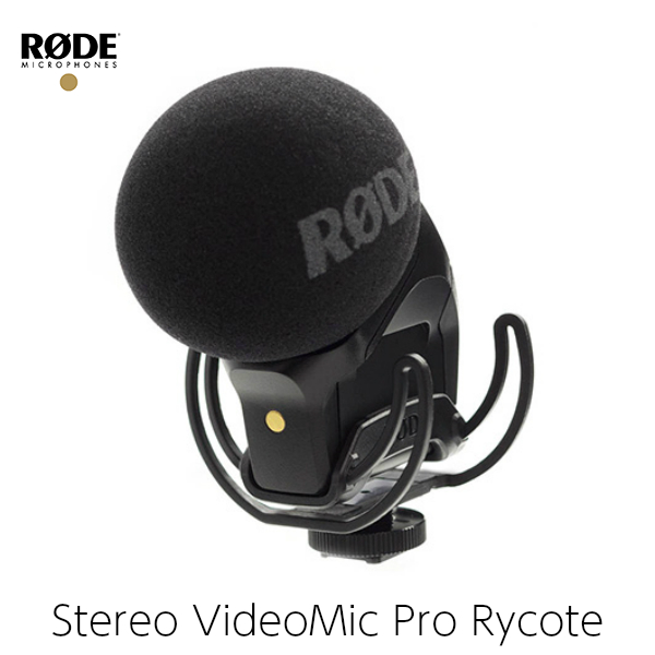 RODE ロード ガンマイク Stereo VideoMic Pro Rycote ステレオコンデンサーマイク