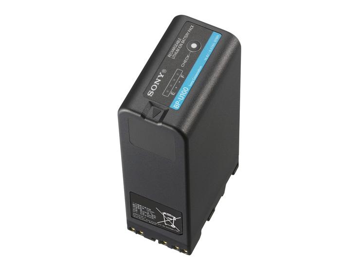 国内正規品 BP-U100 SONY 送料無料お手入れ要らず 高価値 ソニー XDCAMハンディカムコーダー用リチウムイオンバッテリー