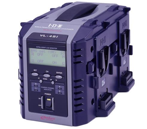 IDX/アイディエクス 4連同時急速充電器(液晶表示機能付) [VL-4Si]