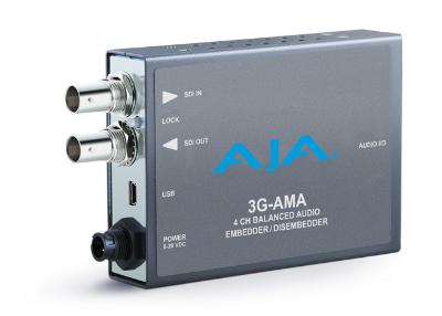 AJA Video Systems/エージェーエー 3G-AMA 3G-SDI 対応アナログオーディオエンベッダー/ディスエンベッダー