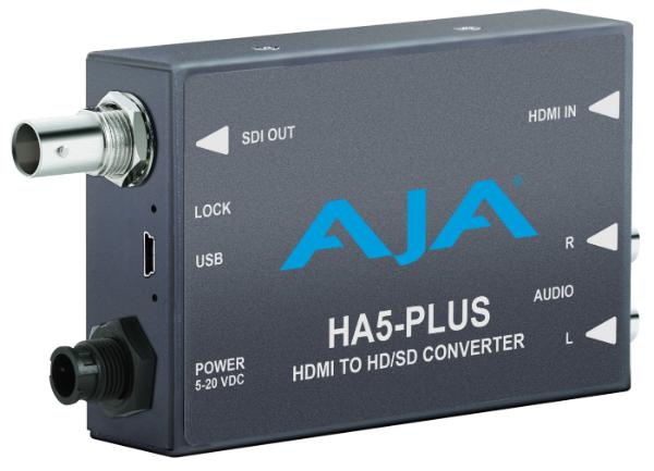 AJA Video Systems/エージェーエー HDMI と SDI を簡単に統合 [HA5-Plus]