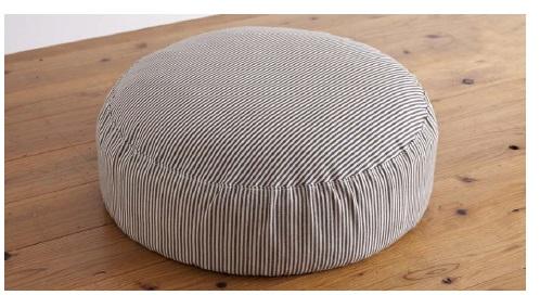 家具 インテリア ソファ クッションChaleur シャレール SH60×60 フロアクッションリネン 麻 リビング