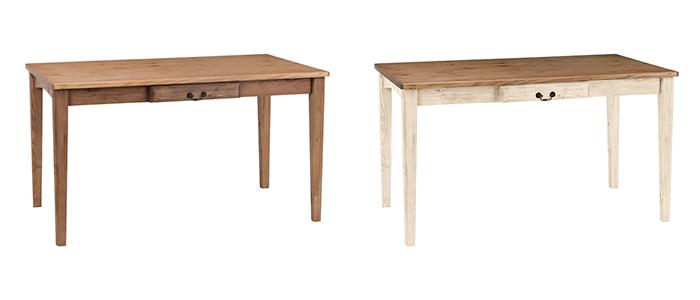 家具 インテリア 椅子 テーブルGALETTE ガレットダイニングテーブル ガレット125 NA WHナチュラル 木製 カフェ ベンチ テーブル
