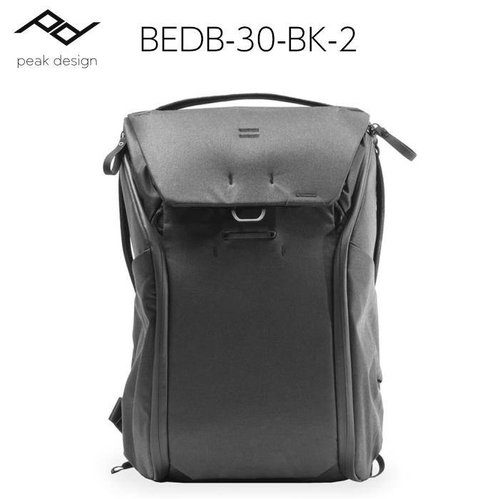 ピークデザイン エブリデイバックパック 30L ブラック BEDB-30-BK-2:インターネットショッピングALLCAM
