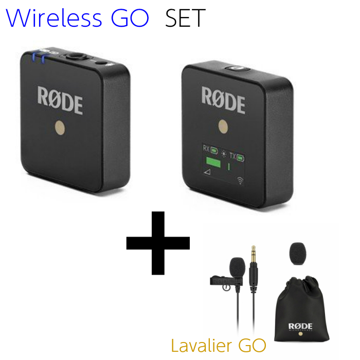 ピンマイク付きセット RODE ロード ワイヤレスマイク WIRELESS GO