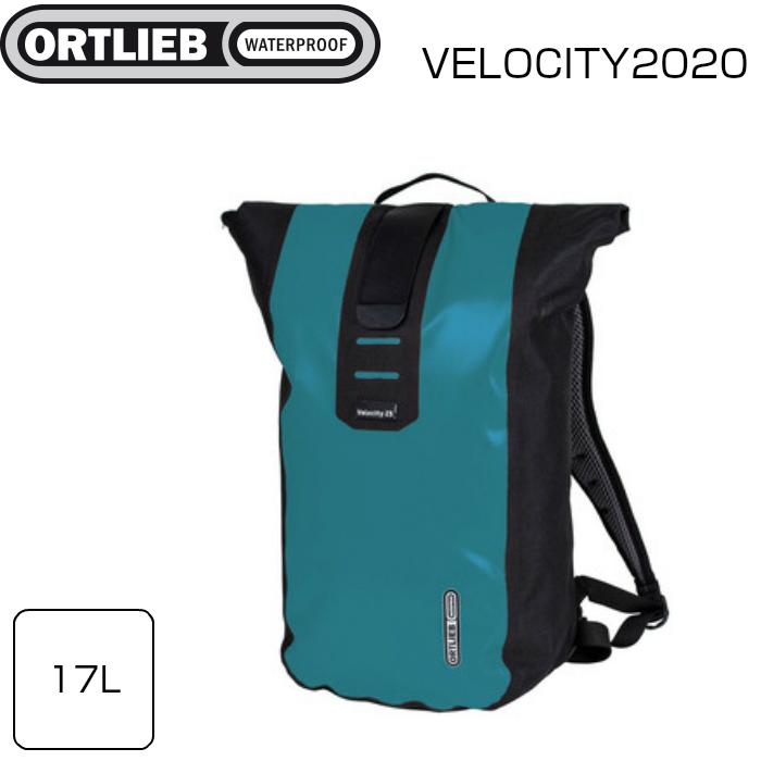 リュック アウトドア タウンユース 自転車 サイクルバッグ 在庫あり ORTLIEB オルトリーブ 17L R4302 ヴェロシティ バックパック 安値 ペトロール モデル着用 注目アイテム