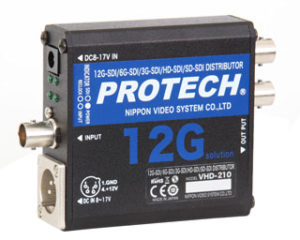 PROTECH/プロテック 1入力2分配 4K/HD-SDI/SD-SDI分配器 VHD-210