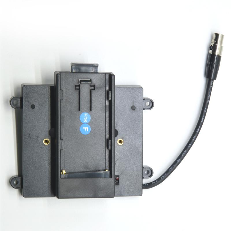 TVlogic ソニー製バッテリー用ブラケット BB-F7H-S