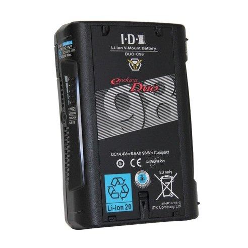 IDX/アイディエクス Vマウントタイプリチウムイオンバッテリー DUO-C98