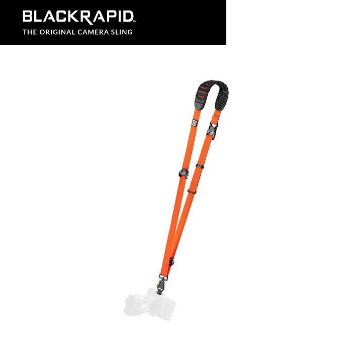 ブラックラピッド BLACKRAPID カメラストラップ カメラアクセサリー クロスショット ブリーズ オレンジ