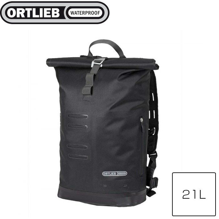 ORTLIEB オルトリーブ コミューターデイパック シティ ブラック 21L