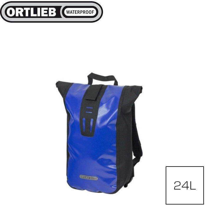 Ortlieb Velocity Design Waterproof Bicycle Backpack 24L Blue//Black