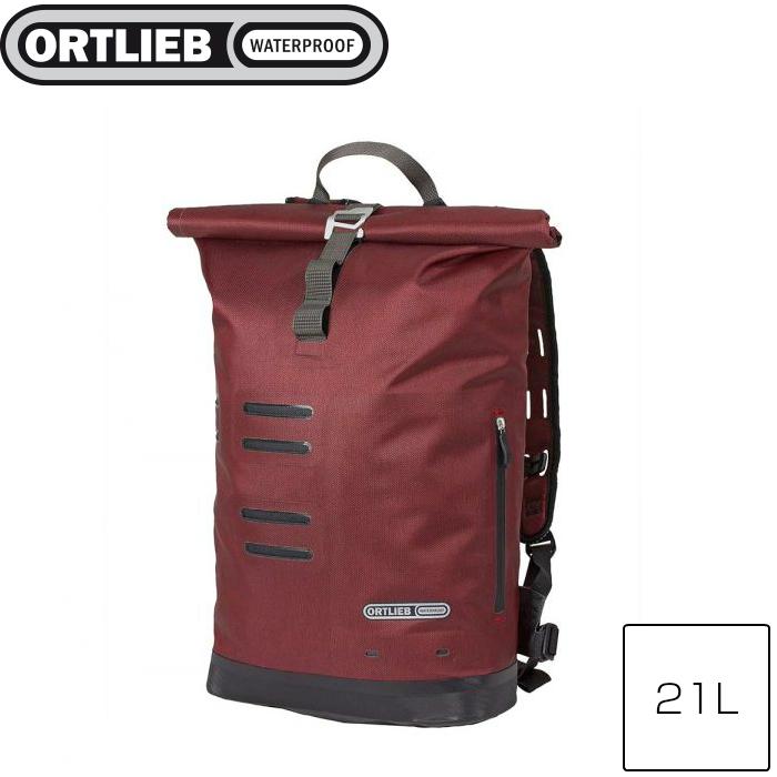 ORTLIEB オルトリーブ コミューターデイパック シティ ダークチリ 21L