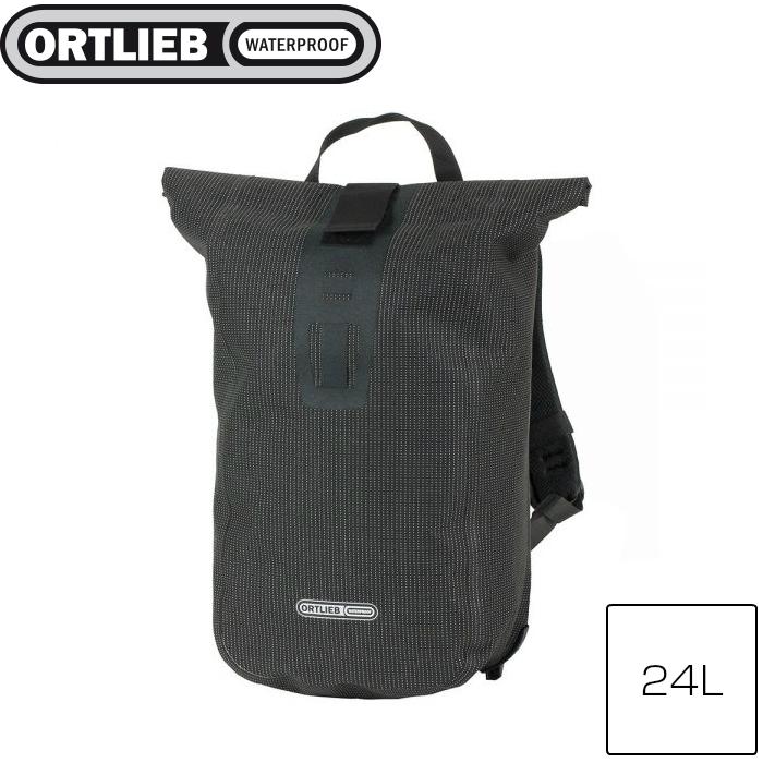 ORTLIEB オルトリーブ ヴェロシティ HV ネオン ブラックリフレックス 24L