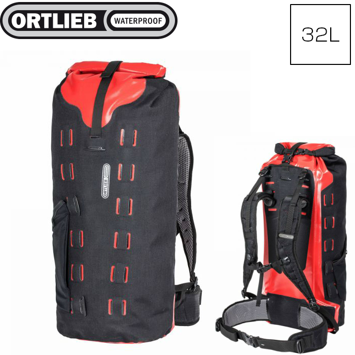 ORTLIEB オルトリーブ ギアパック ブラックレッド 32L R17103