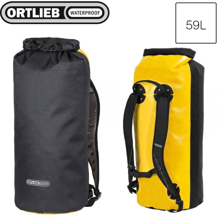 新着 ORTLIEB ORTLIEB オルトリーブ エクスプローラー 59L サンイエロー R17253/ブラック 59L R17253, 鹿児島市:1d9dafe9 --- kultfilm.se