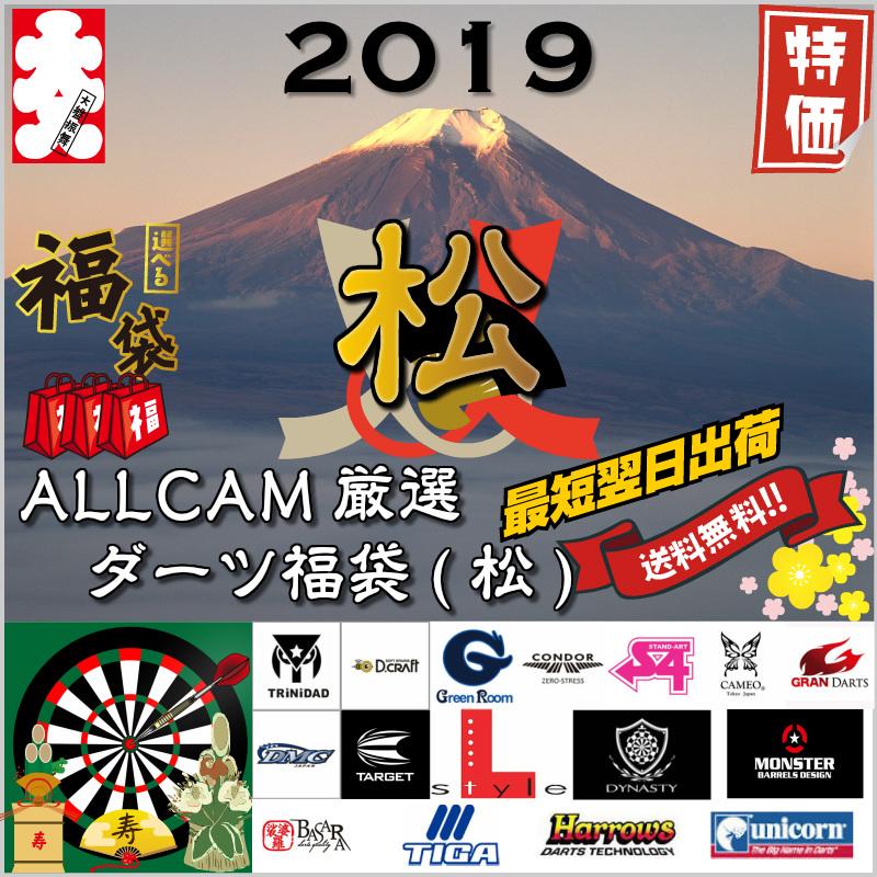 2019 福袋 松 ダーツ バレル ケース シャフト フライト チップ 年末年始 お買い得 プレゼント 正月