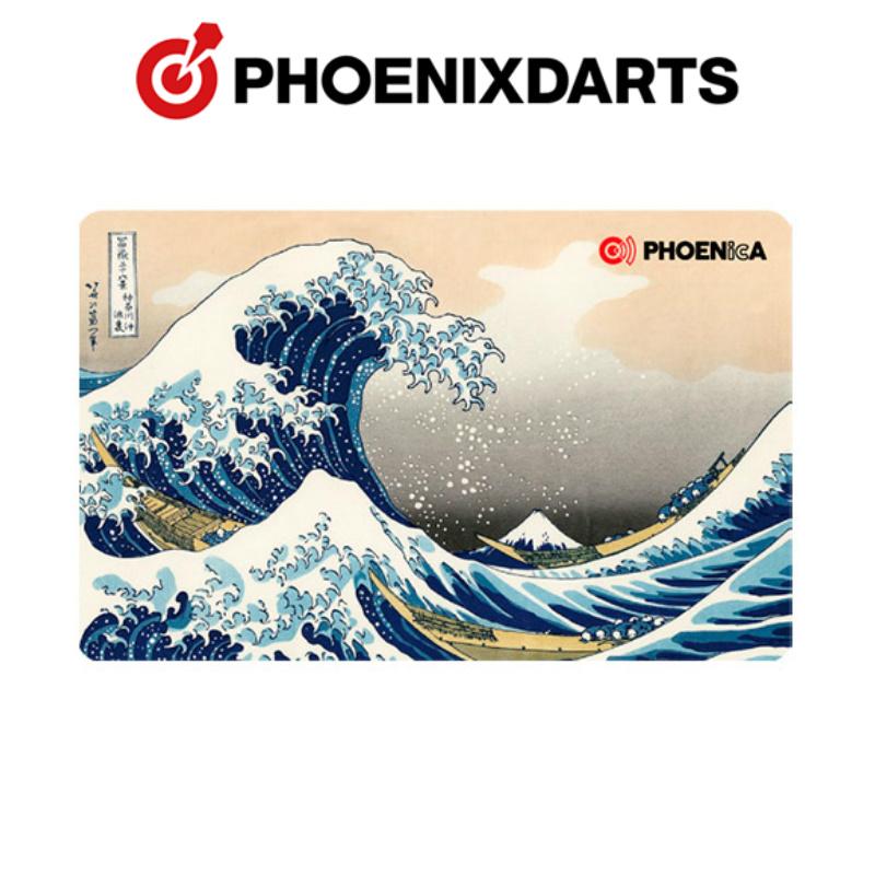ダーツ フェニックス カード PHOENIX CLUB CARD PHOENicA 2019_07 浮世絵 波