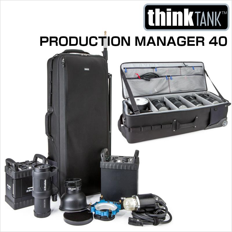 thinkTANKphoto シンクタンクフォト カメラバッグ ローリングケース プロダクションマネージャー 40