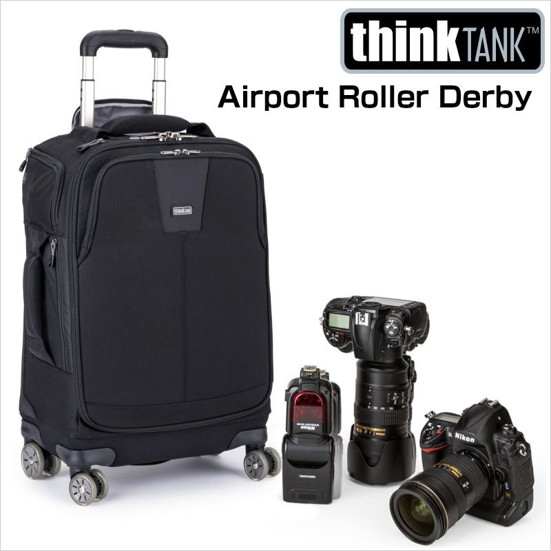 thinkTANKphoto シンクタンクフォト カメラバッグ ローリングケース エアポート ローラーダービー