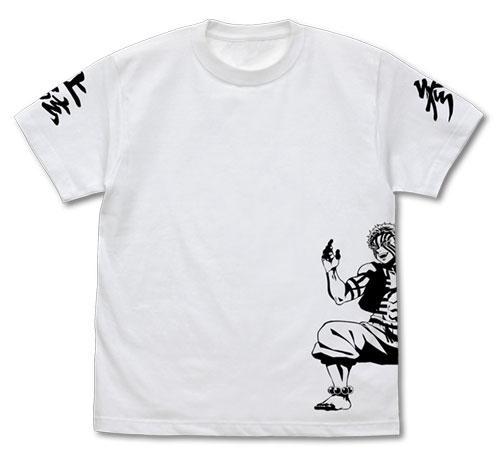 鬼滅の刃 グッズ Tシャツ 洋服 アクセサリー 送料無料キャンペーン中 爆買いセール 公式 鬼 白 XL サイズ L M 猗窩座 COSPA 2020 新作