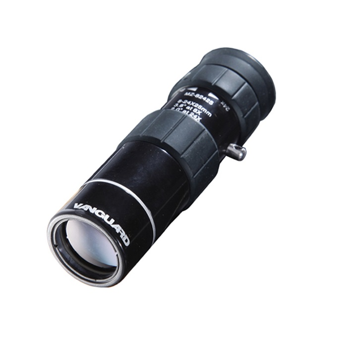 ≪送料無料★期間限定≫ズーム単眼鏡 VANGUARD バンガードMZ-82425C モノキュラー (最小8倍-最大24倍)ギャラリースコープ ポケットサイズ