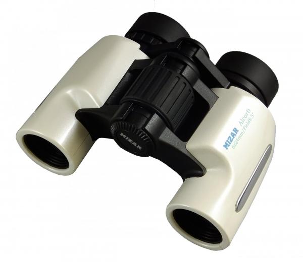MIZAR Alcor6ミザール標準型双眼鏡 標準型 ミザール6倍双眼鏡 NEWモデル メタリック パールホワイト 引出物 バードウォッチング ハイコントラスト視界の高品位モデル マルチコーティング採用レンズ 自然観察 今だけスーパーセール限定 スポーツ観戦 コンサート 高屈折Bak4プリズム