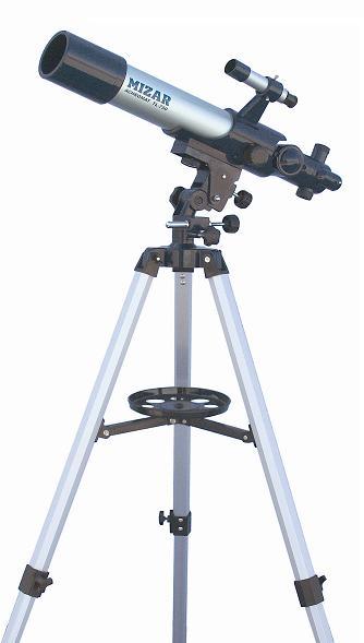 上下 水平微動装置付 天体望遠鏡です お気に入 MIZAR ミザール 天体望遠鏡 セール特価 レンズ 70ミリ - 250倍 20 TL-750
