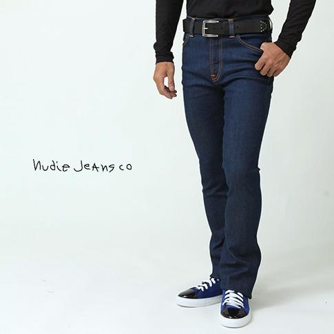 【在庫一点セール】【秋冬OUTLET】ヌーディージーンズ Nudie Jeans BOOT BEN ブーツベン ブーツカット ドライデニム リジット新作モデル DRY GLACIER BLUE 11.0オンス ジップフライ 42161-1260-502