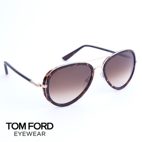Tom Ford  Tom Ford sunglasses   glasses TF341 (FT0341) Miles (miles) 28 K  (dark gold Havana   Brown shaded)  winter  1214a25c084d2