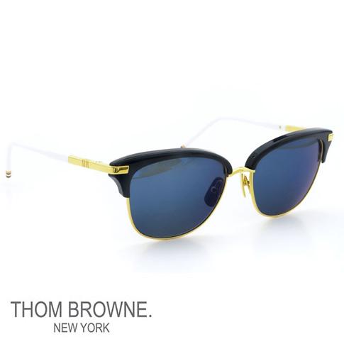 34798c3c84ca Thom glasses THOM BROWNE. NEW YORK EYEWEAR (Thom York) sunglasses  TB-505-C  NVY-18kGLD 56size NAVY-18 K GOLD W D.BLUE MIRROR-AR  TB-505-C-NVY-GLD-56-Z  ...