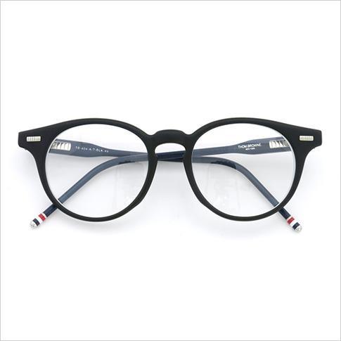 Thom glasses THOM BROWNE. NEW YORK EYEWEAR (Thom York) glasses [TB-404-A MBLK-RWB 45size MATTE BLACK-RWB W/CLEAR] TB-404-A-BLK-45 P08Apr16