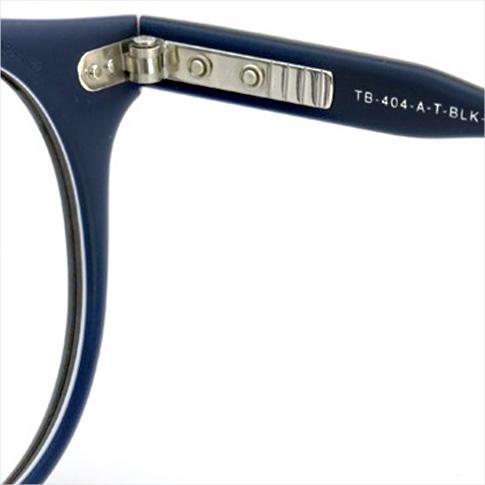 톰 브라운 안경 THOM BROWNE. NEW YORK EYEWEAR (톰 브라운 뉴욕) 안경 [TB-404-A MBLK-RWB 45size MATTE BLACK-RWB W/CLEAR] TB-404-A-BLK-45 P08Apr16